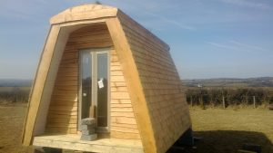 Just a few days and this bothy will ready and on route to make a nice retreat for the campers in North Yorkshire