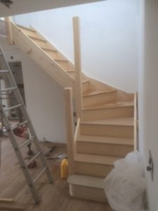 Fitted staircase